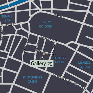 Dublin Citey Centre Map